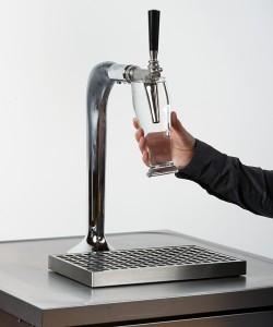 Richtig: Reinigung mit Wasser