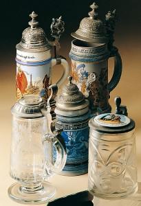 Historische Trinkgefässe