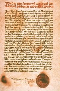 Le «décret sur la pureté de la bière» est la plus ancienne réglementation relative aux denrées alimentaires encore en vigueur.
