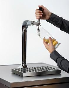 Toujours ouvrir le robinet à fond (pas de mouvements de yo-yo).